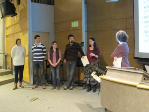 GCeCS awardees describe their capstone projects in communicating climate science to non-science audiences.